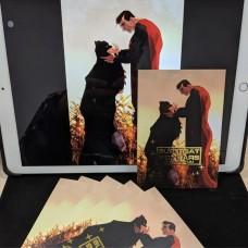 速水《SUPERBAT(80週年明信片)》