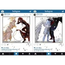 速水《立體銀明信片instagram -1920'S AU/KISS-逆轉AU 共兩款》