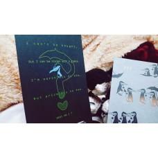 戳《RISO 企鵝卡片》