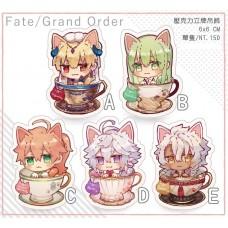 猫羽摩卡《FGO 貓咪咖啡杯立牌》A款