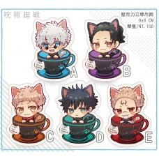 猫羽摩卡《咒術迴戰 貓咪咖啡杯立牌》