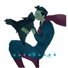 夏川《克拉克與他的布魯喵》超蝙 全彩漫本