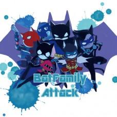 夏川《BatFamily塗鴉本》全彩畫冊