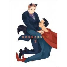 夏川《克拉克與他的布魯喵 2》全彩漫畫 超蝙