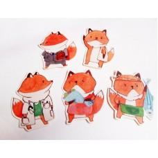 《狐狸日常貼紙》